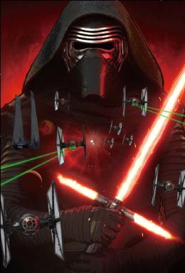 3Dポストカード スター・ウォーズ/フォースの覚醒 カイロ・レン the Attack of Kylo