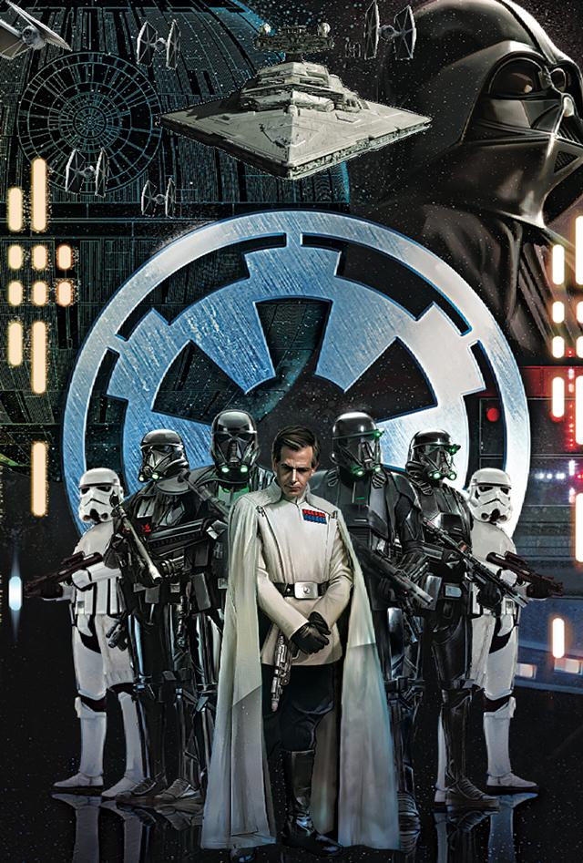 3Dポストカード Star Wars スター・ウォーズ ローグワン GALACTIC EMPIRE