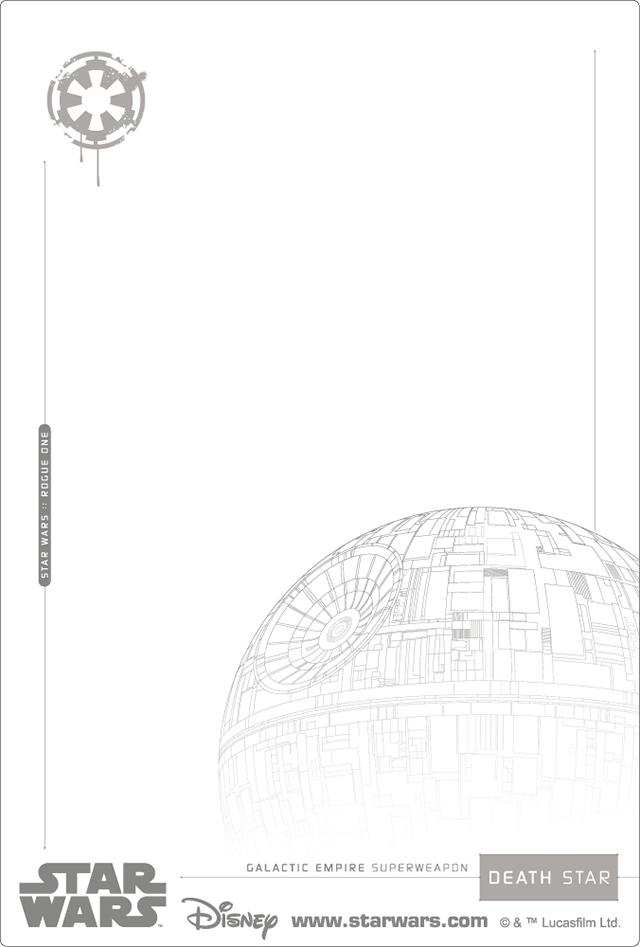 3Dポストカード Star Wars スター・ウォーズ ローグワン DARTH VADER 裏面