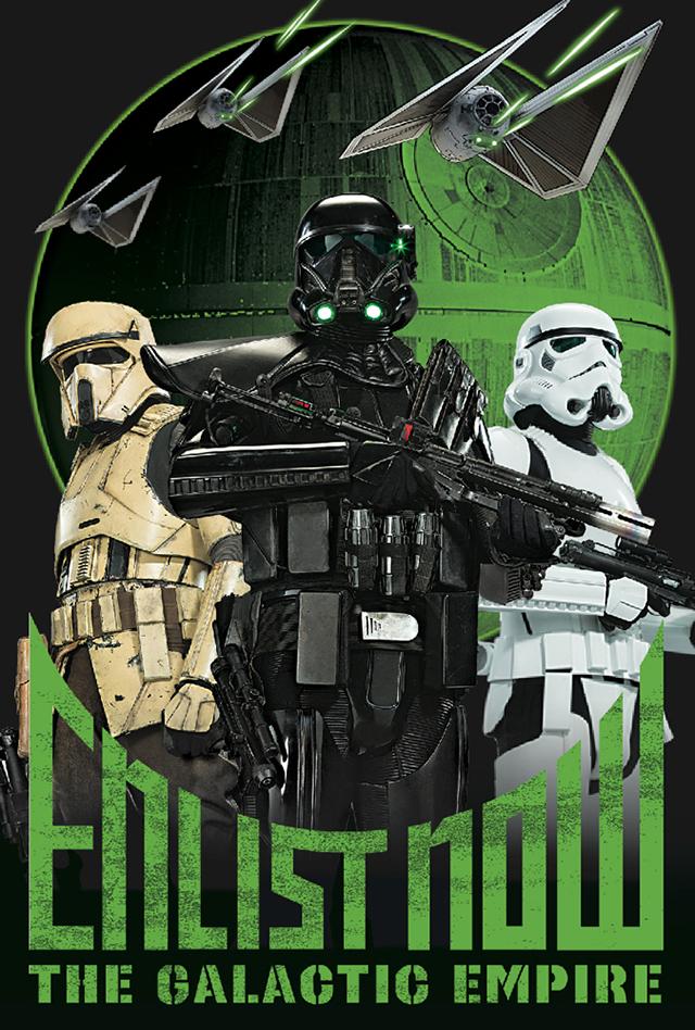 3Dポストカード Star Wars スター・ウォーズ ローグワン TROOPERS