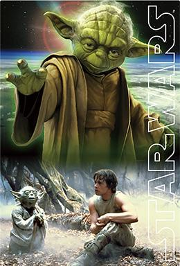3Dポストカード STAR WARS スター・ウォーズ オリジナル・トリロジー Yoda