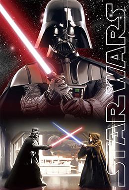 3Dポストカード STAR WARS スター・ウォーズ オリジナル・トリロジー Darth Vader