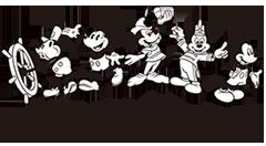 ミッキーマウス生誕90周年商品ロゴ