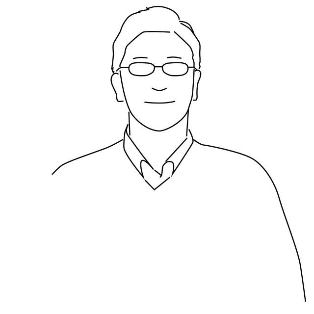 ステーショナリーディレクターの土橋 正