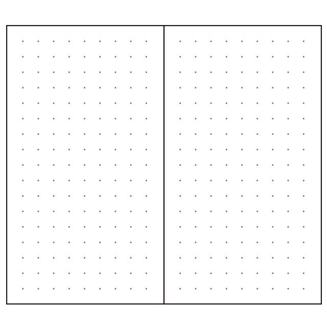 中の用紙は、文字もイラストも描きやすい5mmドット紙面。