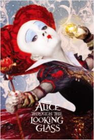 3Dポストカード アリス・イン・ワンダーランド/時間の旅 赤の女王