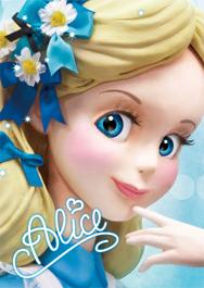 sisa 3Dポストカード クローズアップシリーズ アリス