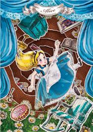 sisa 3Dポストカード ペーパーシアター アリス