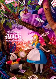sisa 3Dポストカード 不思議の国のアリス