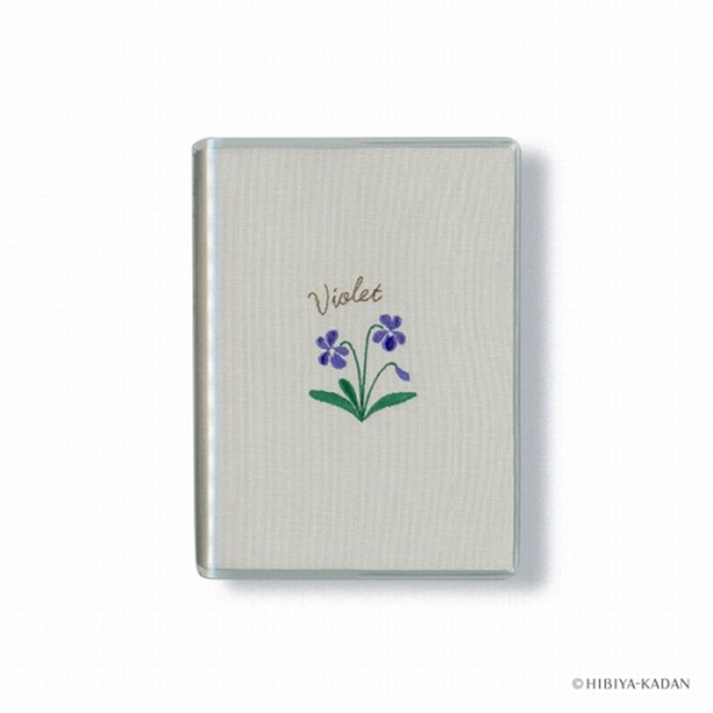 花ことば日記 1日1ページ B7 スミレ R2263