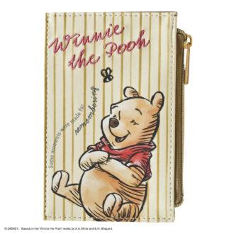 ディズニー カードケース プーさん / 黄 N1722