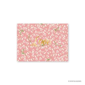 日比谷花壇 グリーティングカード カスミソウ N7706
