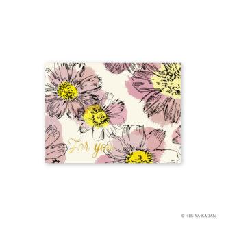 日比谷花壇 グリーティングカード コスモス N7707