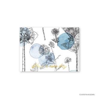 日比谷花壇 グリーティングカード スキミヤ N7709