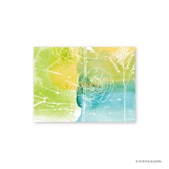 日比谷花壇 グリーティングカード ラナンキュラス1 N7710