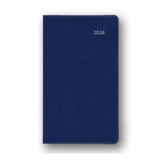 2022年1月始まり アポイント Appoint 大きな文字シリーズ 1ヶ月ホリゾンタル 薄型 手帳サイズ ネイビー E8320