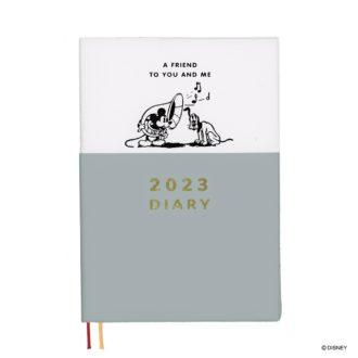 2022年1月始まり ディズニー Disney Diary B6 ウィークリー ミッキー&プルート E6177