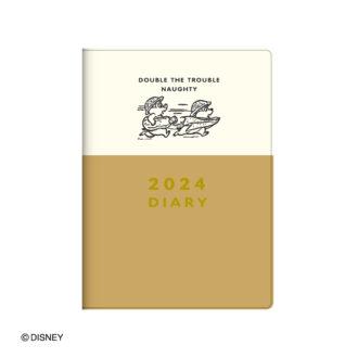 2022年1月始まり ディズニー Disney Diary B6 ウィークリー チップ&デール E6178