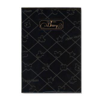 ディズニー 日記帳 ブラック R2123