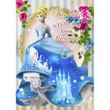 sisa 3Dポストカード ドレスシアター シンデレラ S3693