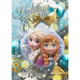 sisa 3Dポストカード クリスマスオーナメント アナと雪の女王 S3674