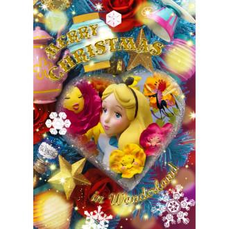 sisa 3Dポストカード クリスマスオーナメント アリス S3676