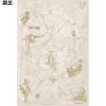 3Dポストカード アリス・イン・ワンダーランド/時間の旅 アリス S3723
