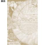 3Dポストカード アリス・イン・ワンダーランド/時間の旅 赤の女王 S3725