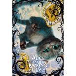 3Dポストカード アリス・イン・ワンダーランド/時間の旅 チェシャ猫 S3726