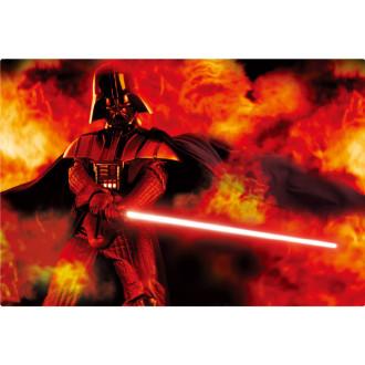 3Dポストカード スター・ウォーズ/フォースの覚醒 ダース・ベイダーDarth Vader on Fire S3714
