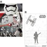【送料無料】 3Dポストカード スター・ウォーズ/フォースの覚醒 コンプリートセット(8枚入り) T8122