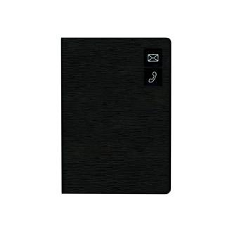 大きく書けるアドレス ブラック G6936