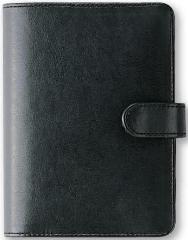 フリーシステム手帳(6穴ミニ) ロマーナフリー ブラック K7408