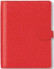 フリーシステム手帳(6穴ミニ) パインバレー レッド K7746
