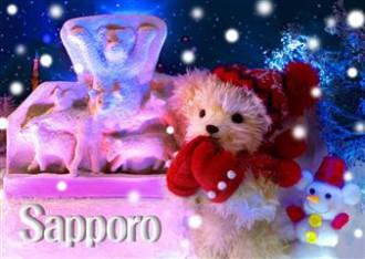sisa 3Dポストカード 雪祭り S3101