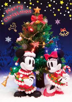 sisa 3Dポストカード キラキラ☆クリスマス S3525(S3999) S3525(S3999)