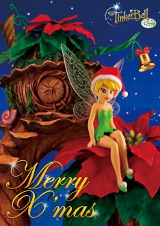 sisa 3Dポストカード クリスマス・ベル S3526