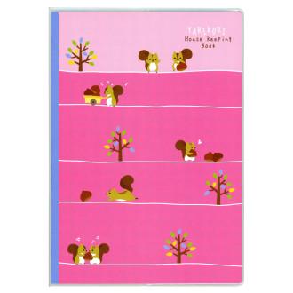 やりくり上手さんの家計簿 B5 ピンク J1272
