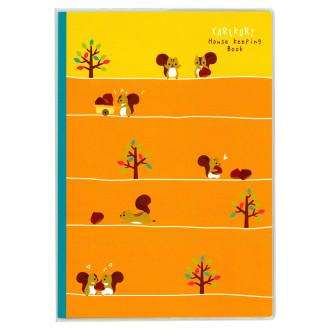 やりくり上手さんの家計簿 B5 オレンジ J1273