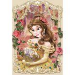 3Dポストカード 美女と野獣 ベル ELEGANT FRAME SERIES S3722