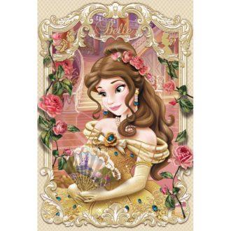 3Dポストカード 美女と野獣 ベル ELEGANT FRAME SERIES S3783