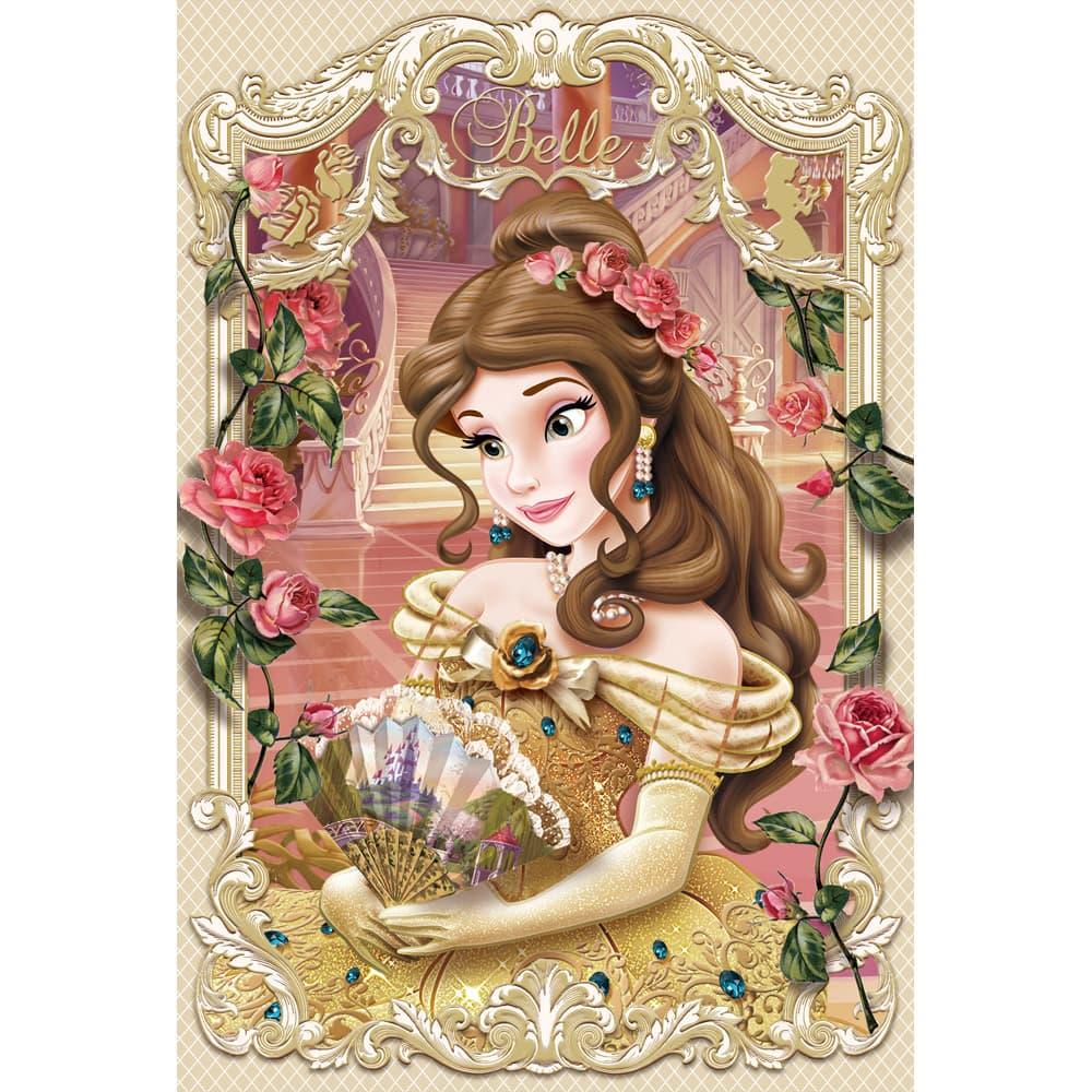 3Dポストカード 美女と野獣 ベル...