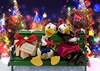 sisa 3Dポストカード ドナルドのクリスマス S3584