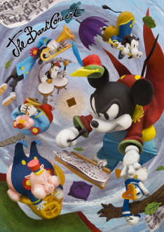 sisa 3Dポストカード ミッキーの大演奏会 S3590