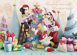 sisa 3Dポストカード デコレイト・クリスマス S3597