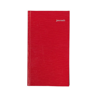 リエールノート journal: スリム レッド R1235