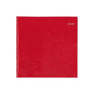 リエールノート journal: スクエア レッド R1240