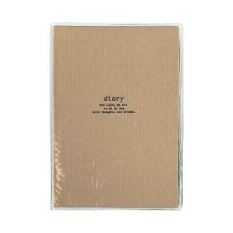 カジュアル日記 B6 クラフト茶 R2183