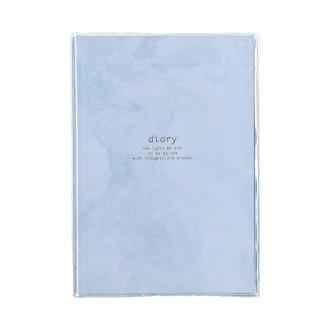 カジュアル日記 B6 マーブルブルー R2186