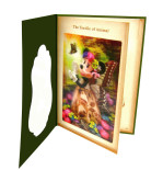 3Dグリーティングカード The Textile of Animal S2411